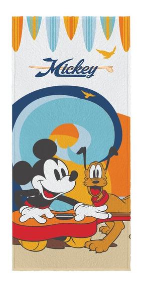 Toalha Felpuda De Banho Infantil Lepper Original Mickey
