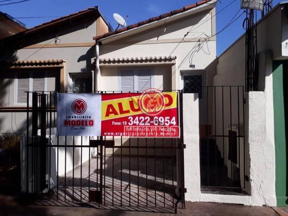 Casa Com 1 Dormitório Para Alugar, 100 M² Por R$ 700,00/mês - Jardim São Luiz - Piracicaba/sp - Ca1056