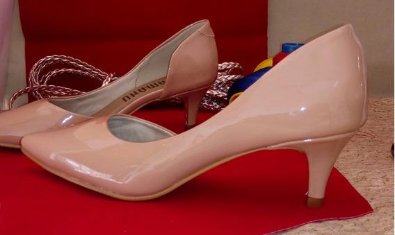 Promoção Sapato Baixo Oferta Verniz Sapatinho Saltinho