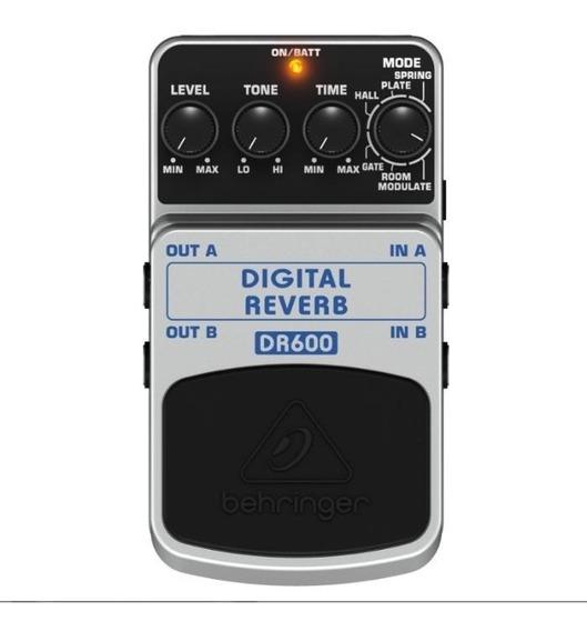 Pedal Digital Reverb Estéreo Dr600 Behringer Promoção