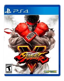 Jogo Street Fighter V - Ps4 | Mídia Física