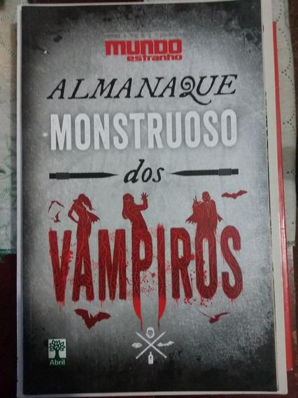 Almanaque Monstruoso Dos Vampiros - Coleção Mundo Estranho
