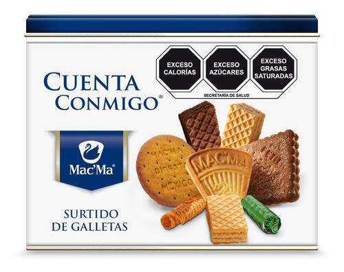 Imagen 1 de 1 de Galletas Macma Cuenta Conmigo 600 Gr