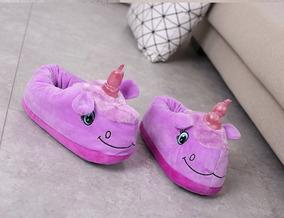 Chinelo Pantufa Cosplay Pijama Unicornio Adulto Chega 35 Dia