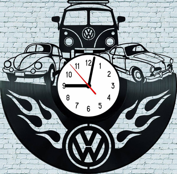 Fusca Kombi Karmanghia Aircooled Volks - Relógio De Parede