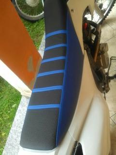 Capa Banco Antiderrapante Moto Yamaha Ttr Yz Wr Xt Dt Lander
