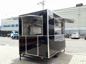 Trailer Carretinha Food Truck Food Trailer Treiler