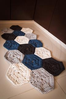 Tapete Crochet Decorativo Diseño Unico Envio Gratis