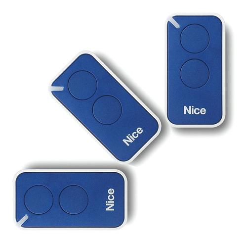 3 Controle Remoto Portão Eletrônico Nice Peccinin Linear