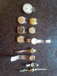 Relojes Antiguos Varios Lote