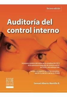 Libro : Auditoria Del Control Interno - Mantilla, Samuel...
