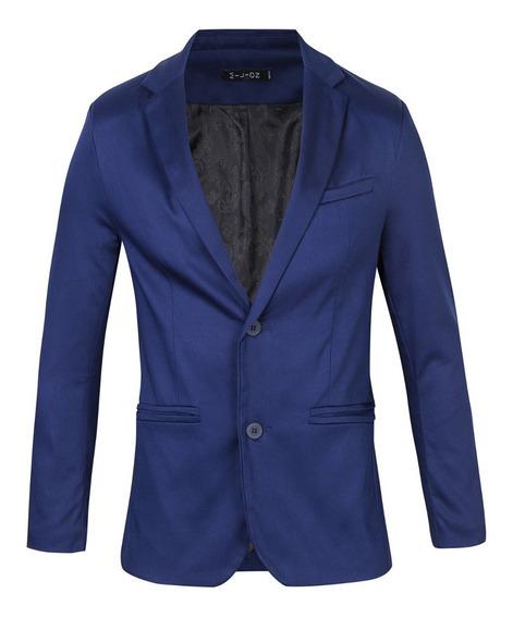 Saco Vestir Elastizado Satinado Hombre - Quality Import Usa