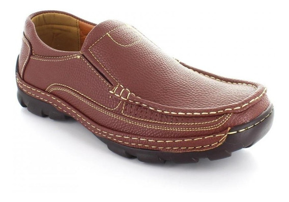 Mocasin Para Hombre Furor 30429-048124 Color Rojo