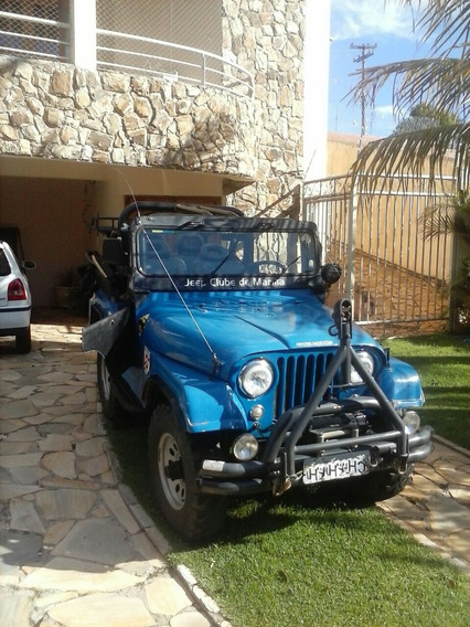 Jeep Willys Cj5 (equipado Para Trilha)