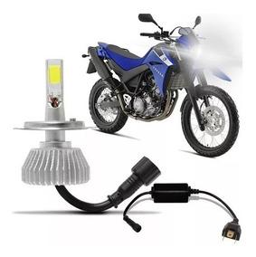 Lampada Super Led 6000k Farol Moto Xt 660 05 2006 Á 2016 Top