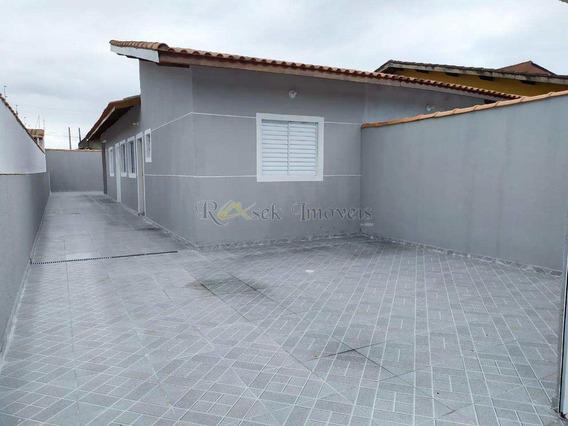 Casas Novas Lado Praia Em Itanhaém - Cod: 365 - V365