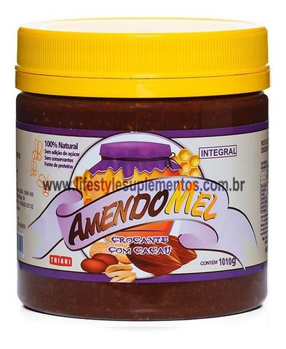 Imagem 1 de 2 de Pasta De Amendoim Amendomel Com Cacau Crocante 1kg - Thiani