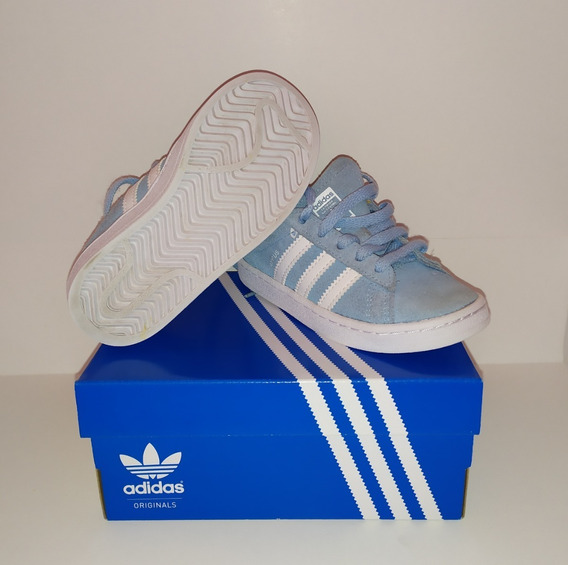 Zapatillas adidas Originals Campus Celestes Niño