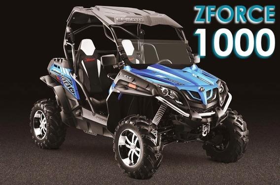 Utv Cf Moto Zforce 1000 Autmático 4x4 4x2 / Direção Elétrica