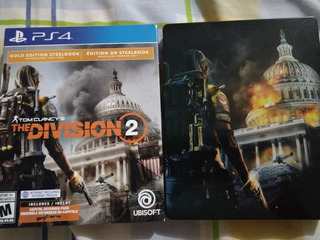 The Division 2 Gold Edition Steelbook