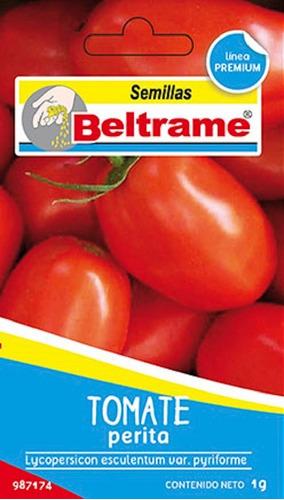 Semillas De Tomate Perita Beltrame 1g Huerta