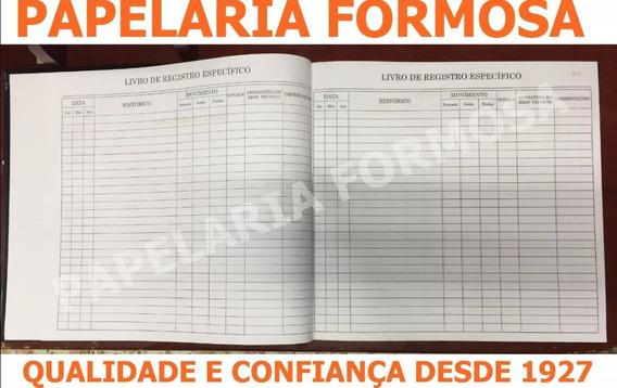 Livro De Registro Específico ( Psicotrópico ) 100 Fls