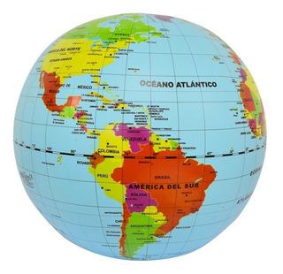 Globo Terráqueo Maxi Países Y Capitales