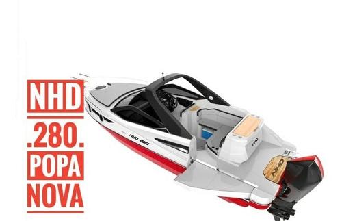 Lancha Nhd 280 - Motor De Popa - Open Deck