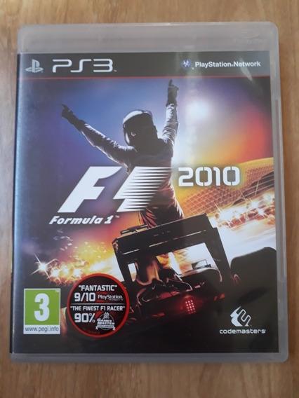 Formula 1 2010 F1 2010 Midia Fisica Original Ps3 Usado