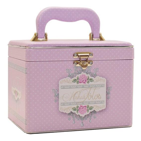 Álbum Maleta Box Luxo Minhas Fotos P/ 240 Fotos 10x15