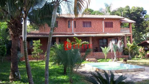 Chácara Com 3 Dormitórios À Venda, 4000 M² Por R$ 790.000,00 - Capuava - São José Dos Campos/sp - Ch0046