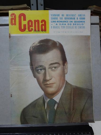 Revista A Cena Muda Nº 22 1953 John Wayne