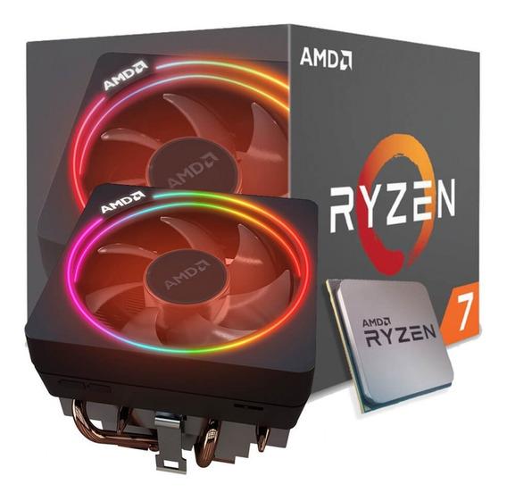 Processador Amd Ryzen 7 2700x Am4 Cooler Wraith Prism