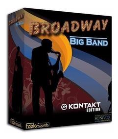 Broadway Big Band Fable Sound - Kontakt - Envio Imediato