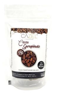 Semilla Grano De Cacao Garapiñado Azúcar Mascabado Oax 100g