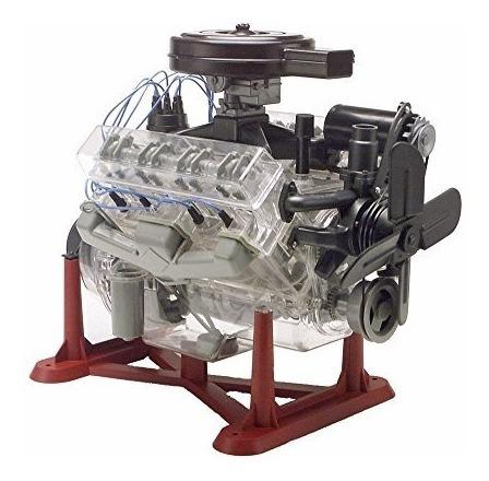 Revell 1 85-8883/4 V-8 Visible Motor Kit Modelo Plástico,