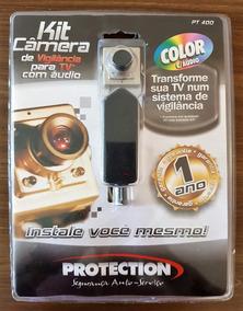 Kit Câmera Vigilância Circuito Fechado Pt-400