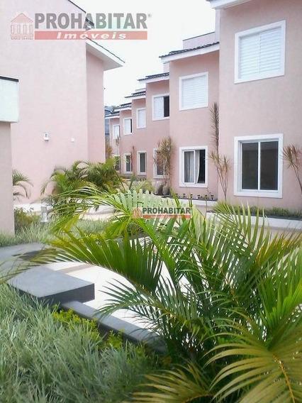 Vendo Maravilhosa Casa Em Condomínio Fechado Pronta Para Morar Com Piso Frio Em Todas As Dependências, Sobrado Com 90 M². - Ca1605