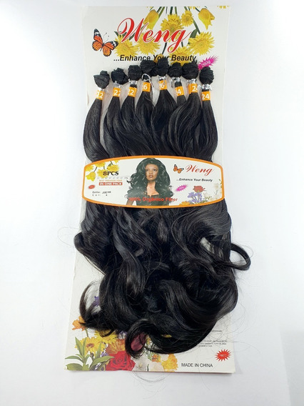 Cabelo Orgânico Liso Ond Human Hair 70 Cm 260g Tela + Brinde