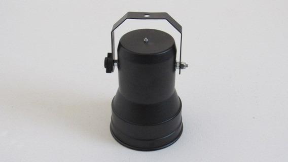 Kit Com 10 Peças Refletor Spot Par 38 Com Soquete E-27 Preto