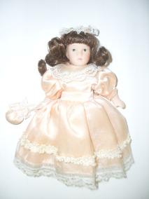 Boneca De Porcelana Knightsbridge Dolls Antiga - Frete 11,90