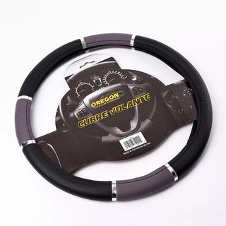 Cubre Volante Pvc 38cm Con Reflector Auto Tunning Universal