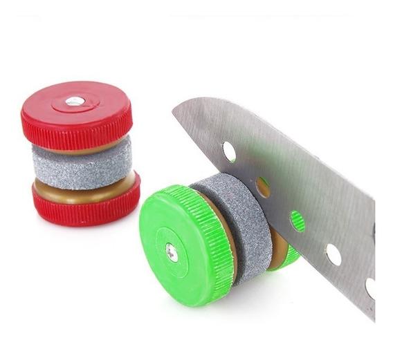 Afilador De Cuchillo Set X2 Piedra Tijera Cocina