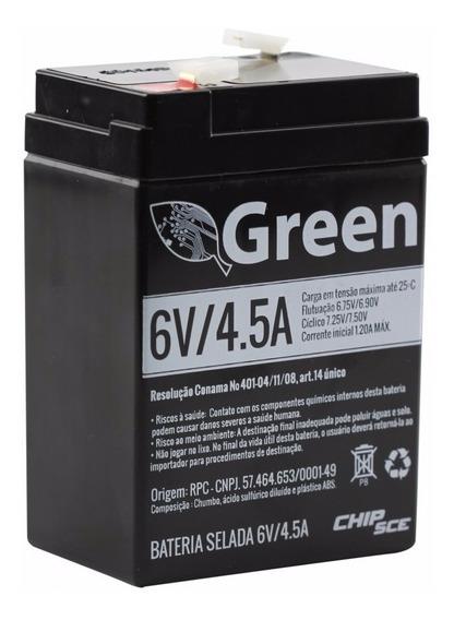Bateria Selada 6v 4,5ah Green