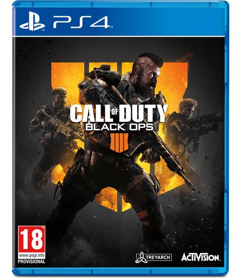 Call Of Duty Black Ops 4 Ps4 Midia Fisica Lacrado Dublado Br