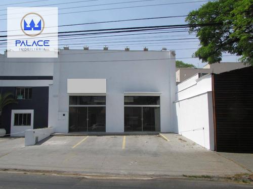 Salão Para Alugar, 270 M² Por R$ 12.500,00/mês - Alto - Piracicaba/sp - Sl0064