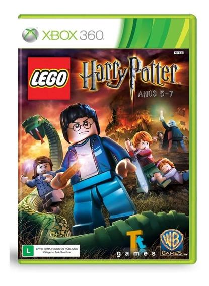Lego Harry Potter Anos 5-7 Xbox 360 Mídia Física Novo
