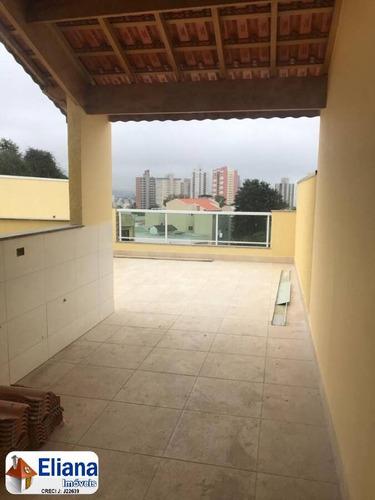 Cobertura Sem Condomínio 88 M² - $ 335 Mil - Vl. Alpina - Ma5624