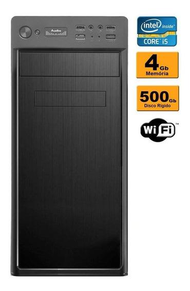 Pc Cpu Desktop Intel Core I5 3.1 4gb Hd 500gb Wifi Promoção
