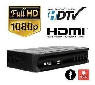 Conversor Digital - Assista A Canais Abertos Tv Full Hd Qualquer Aparelho - Gravador Roda Vídeos - Filmes - Músicas